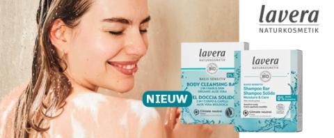 lavera shampoo & body cleansing bars