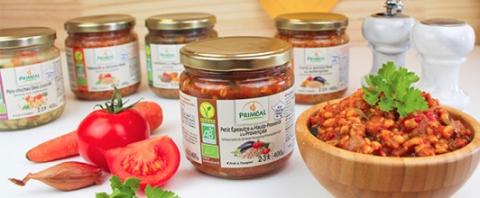 Priméal biologische groenten in pot