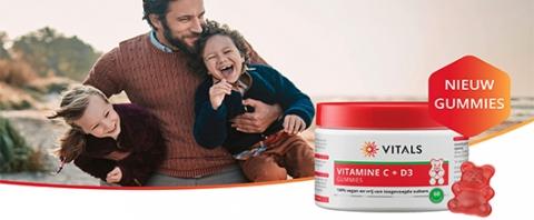 Vitals Vitamine C en D3 Gummies
