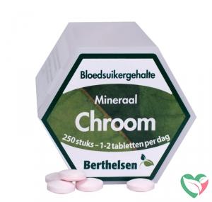 Berthelsen Chroom picolinaat 62,5 mcg