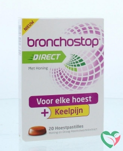 Bronchostop Direct pastilles honing