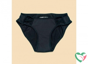 Cheeky Wipes Menstruatie ondergoed Feeling Sassy zwart 40/42