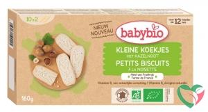 Babybio Babykoekje hazelnoot 12 maanden bio