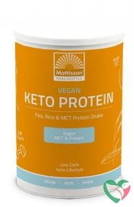 Mattisson Vegan Keto protein shake - pea, rice & MCT