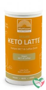 Mattisson Vegan keto latte instant MCT & coffee drink