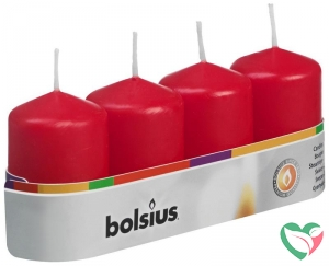 Bolsius Stompkaars 60/40 rood