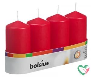Bolsius Stompkaars 100/48 rood