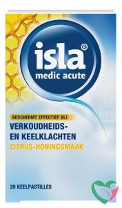 Isla Medic acute citrus honing keelpastilles