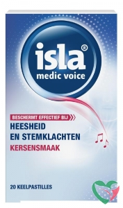 Isla Medic voice keelpastilles