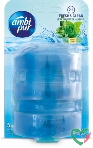 Ambi Pur Fresh water & mint navul