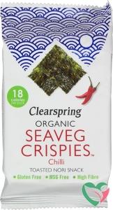 Clearspring Seaveg crispies chilli bio