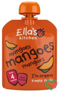 Ella's Kitchen Mango knijpzakje 4+ maanden bio