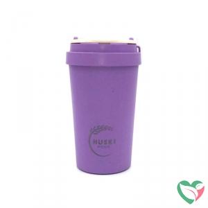 Huski Home Rice husk cup violet