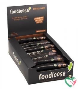 Foodloose Coffee date verkoopdoos 24 x 35 gram bio