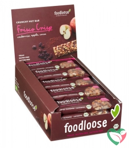 Foodloose Frisco crisp verkoopdisplay 24 x 35 gram