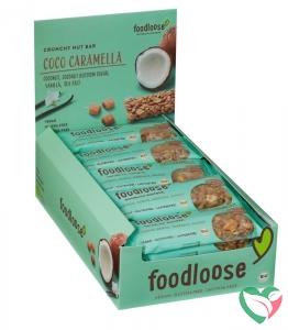Foodloose Coco caramella verkoopdisplay 24 x 35 gram