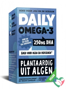 Daily Supplement Daily omega-3 250 mg DHA - vegan