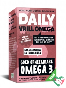 Daily Supplement Daily Vrill Omega - vegan krill omega
