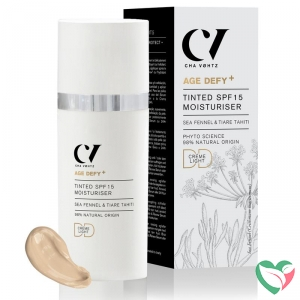 Green People Age defy+ tinted DD moisturiser SPF15 light