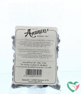 Amarelli Laurierdrop zakje kleine stukjes