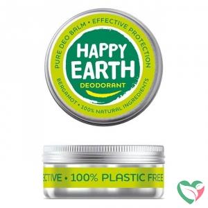 Happy Earth Pure deodorant balm bergamot