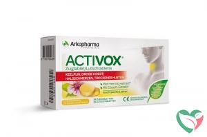 Activox Keelpijn droge hoest