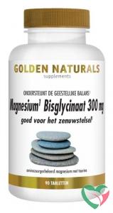 Golden Naturals Magnesium bisglycinaat 300 mg