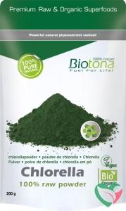 Biotona Chlorella raw powder bio