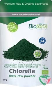 Biotona Chlorella & spirulina raw powder bio