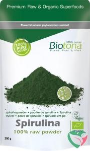 Biotona Spirulina raw powder