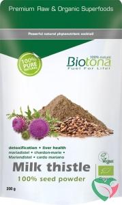 Biotona Milk thistle seed powder