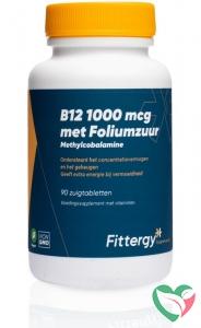 Fittergy B12 1000 mcg methylcobalamine