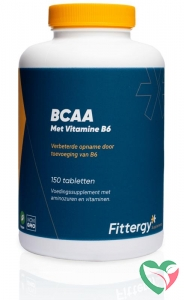Fittergy BCAAs met vitamine B6