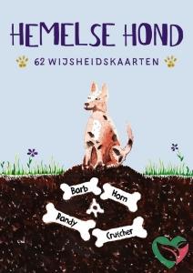A3 Boeken Hemelse hond - 62 wijsheidskaarten