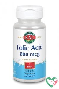 KAL Foliumzuur 800 mcg & B12