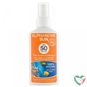 Alphanova Sun Sun vegan spray SPF50 bio