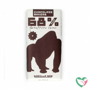 Chocolatemakers Gorilla bar 68% puur bio