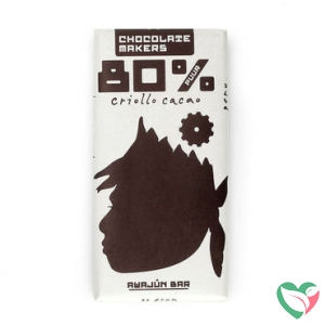 Chocolatemakers Awajun 80% bio fairtrade