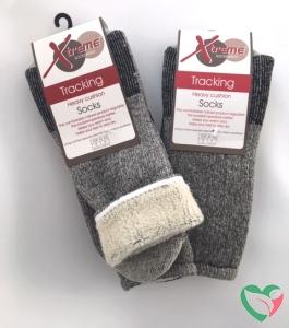 Xtreme Sockswear Sokken merinowol grijs 31/34