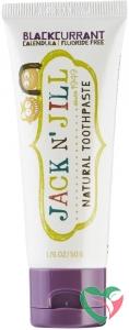 Jack N Jill Natural toothpaste blackcurrant