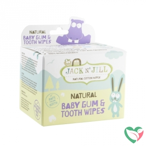 Jack N Jill Natural baby gum & tooth wipes