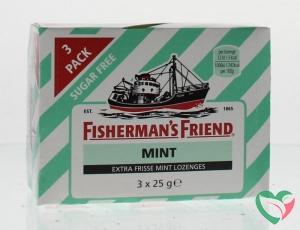 Fishermansfriend Strong mint suikervrij 25 gram