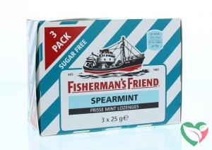 Fishermansfriend Spearmint suikervrij 25 gram