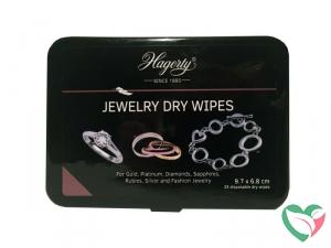 Hagerty Jewel dry wipes wegwerp