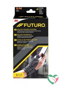 Futuro Deluxe duimspalk S/M zwart