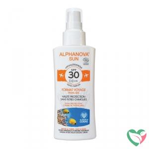 Alphanova Sun Sun spray SPF30 gevoelige huid bio