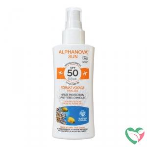 Alphanova Sun Sun spray SPF50 gevoelige huid bio