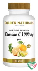 Golden Naturals Vitamine C1000 puur