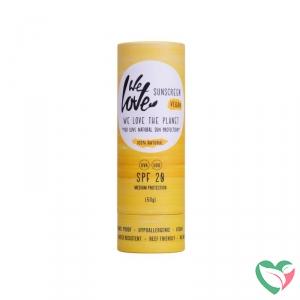 The planet sunscreen stick SPF 20 vegan - in Zonbescherming