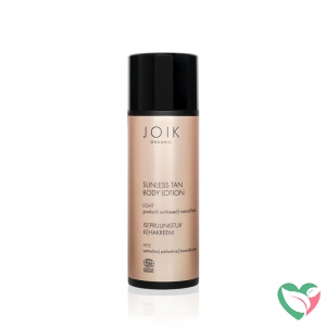 Joik Sunless tan body lotion light